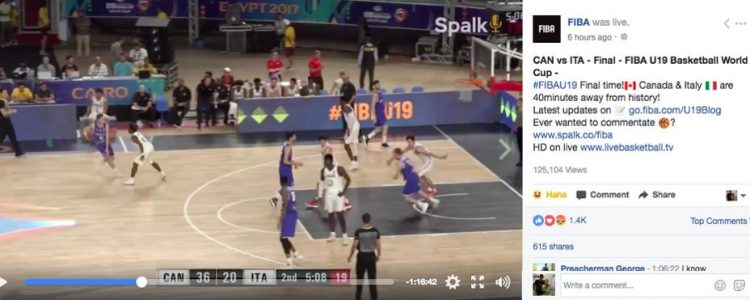 FIBA Partners with Spalk to crowd-source sports commentary